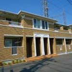 柳井市・新庄、賃貸アパート2LDK(2F・203号)ヴィクトリアハウスA