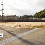 田布施・田布施中学校近く 売土地 B号地(約81.87坪)C号地(約106.40坪)住宅用地 ※建築条件なし。