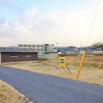 【新価格】柳井市・新庄 小学校近く 売土地(154.47坪)住宅用地① ※建築条件なし。