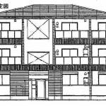 【新築】柳井市・中央3丁目 賃貸アパート1LDK(2F・203号)ロビーナ フォルシュ