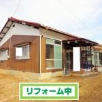 光市・岩田 大和病院近く 一戸建売家(3LDK)平屋建 ※全面リフォーム中